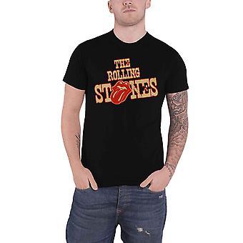 Het Rolling Stones T Shirt wilde westen Logo nieuwe officiële Mens zwart