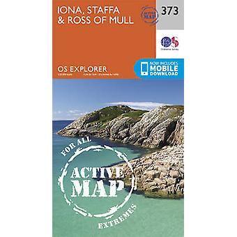 Iona - Staffa and Ross of Mull (September 2015 ed) by Ordnance Survey