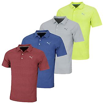 Puma Golf Herren Aston DRYCELL UPF 50+ Feuchtigkeit Wicking Polo Shirt
