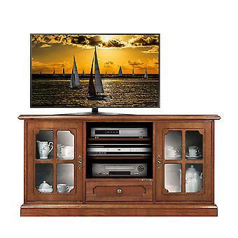 Klassischer Schrank für TV mit Glastüren