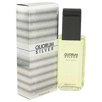 Quorum Silver By Puig Eau De Toilette Spray 3.4 Oz (men) V728-429252