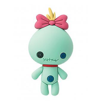3D skum magnet-Disney-lilo Stitch-Scrump nya 85681