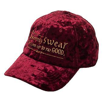 Baseball Cap - Harry Potter - I Solemnly Swear Velvet Adjustable Cap