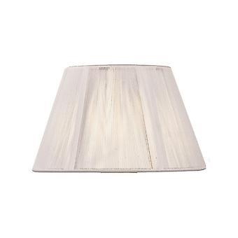 Mantra Silk String Shade Ivory White 250/400mm X 250mm