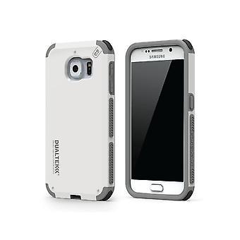 Caso PureGear DualTek para Samsung Galaxy S6-branco Ártico