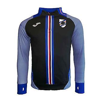2019-2020 Sampdoria Joma Half Zip Training Top (Black)