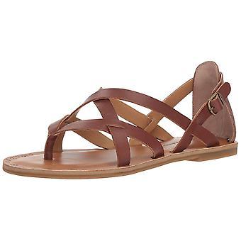 Lucky Brand Naisten Ainsley nahka Split toe rento nilkka hihna sandaalit