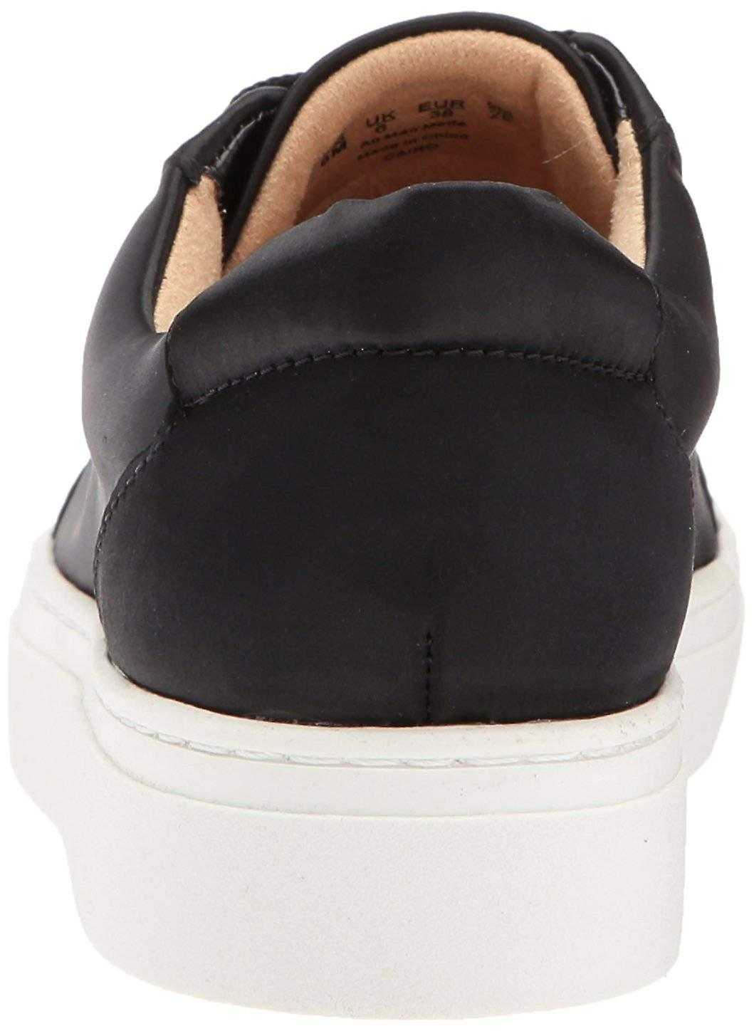 Naturalizer Kobiety cairo skóra low top lace up fashion sneakers lFbIQ