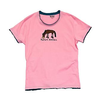 LazyOne Womens/Ladies Pasture Bedtime PJ T-Shirt