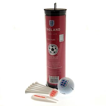 England FA Golf Gift Tube