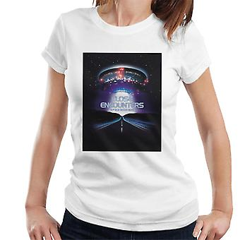 Close Encounters of the Third Kind Movie Poster Women's T-Shirt