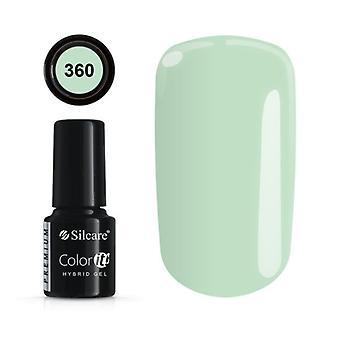 Lakier żelowy - Color IT - Premium - *360 żel UV/LED