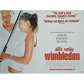 Wimbledon (kaksipuolinen säännöllinen) alkuperäinen elokuva juliste