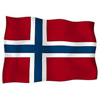 Sticker Autocollant Drapeau Exterieur Vinyle Voiture Moto Norvege Norvegien