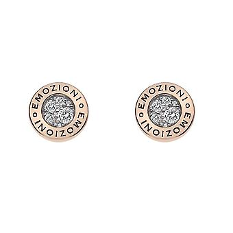 Emozioni Purity Rose Gold Plated Earrings EE008