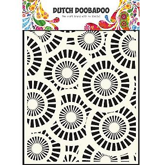 Dutch Doobadoo Circles A5 Stencil Mask A5 470.715.013