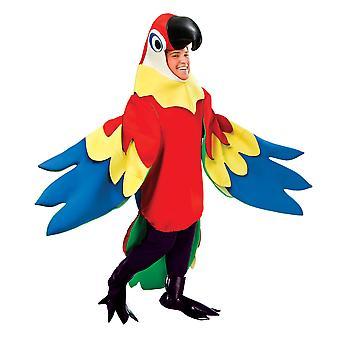 Bristol Novelty Unisex Adults Parrot Costume