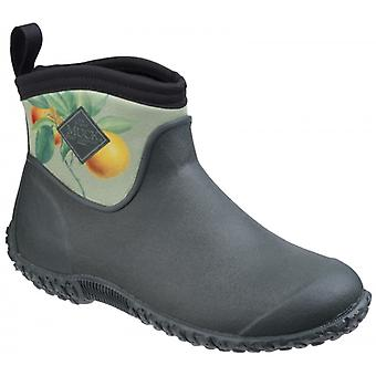 Muck Boots Muckster II fotled RHS damer stövlar grön/citrus aurantium