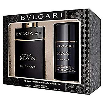 Bvlgari man in zwarte gift set 100ml EDP + 75ml Deodorant Stick
