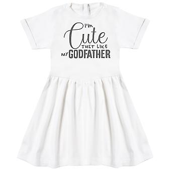 I'm Cute Just Like My GodFather Baby Dress
