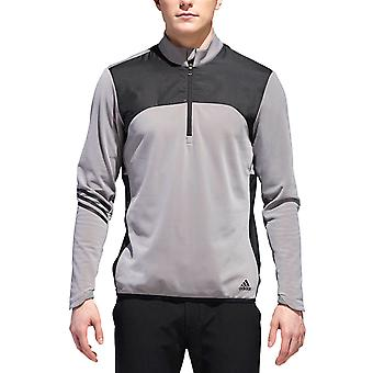 Adidas Golf mens Climaheat FrostGuard 1/4 zip stretch Pullover