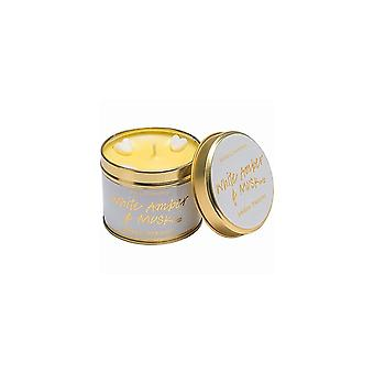 Bomb Cosmetics Tinned Candle - White Amber & Musk