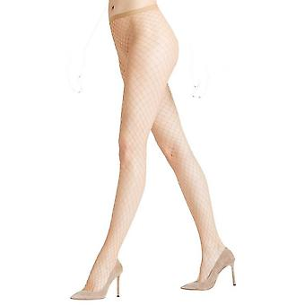 Falke Classic Net Tights - Powder Beige