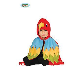 Papegaai Macaw vogel kostuum baby 12-24 maanden