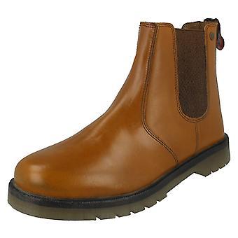 Mens HX London Pull On Dealer Boots HX01T