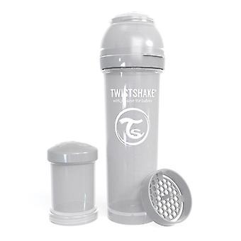 Twistshake Baby Bottle Anticolic 330Ml - Pastel Grey