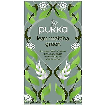 Pukka Lean Matcha Green Tea Bags 80