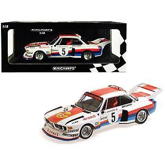 BMW 3.5 CSL #5 Sepp Manhalter Winner Havirov International (1977) Limited Edition to 414 pieces Worldwide 1/18 Diecast Model Car by Minichamps