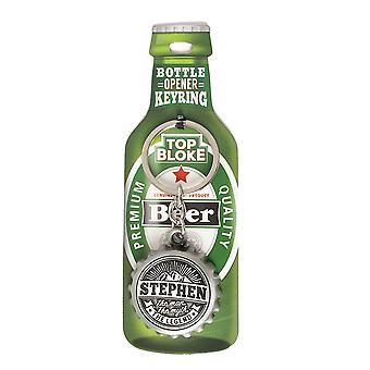 History & Heraldry Keyring - Stephen Bottle Opener