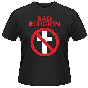 Bad Religion Cross Bust Rock Punk Official T-Shirt