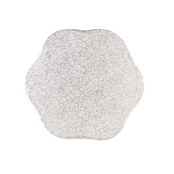 """Culpitt 10"""" (254mm) Cake Board Petal Silver Fern - Single"""