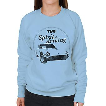 TVR Spirit Of Driving Women's Sweatshirt