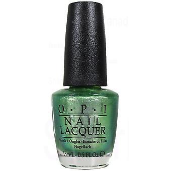 OPI Nail Polish - Visions of Georgia Green, NLC93