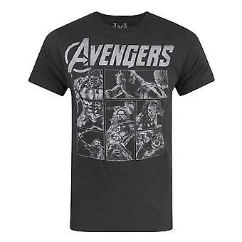 Jack Of All Trades Avengers Panels Miesten's T-paita