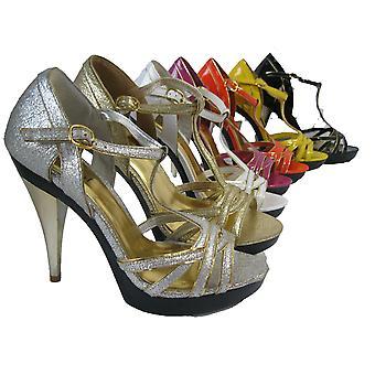 Rascal Patent Disco Peeptoe Sandals