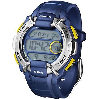 SINAR Youth Watch Men's Wristwatch Digital Quartz Unisex Rubber XA-10-22