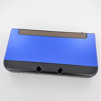 Hybrid case for new 3ds xl nintendo console aluminium protective hard shell - blue | zedlabz