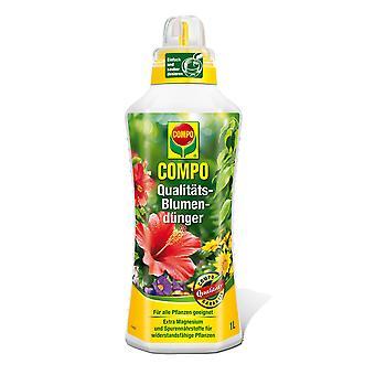 Fertilizzatore floreale di qualità COMPO, 1 litro