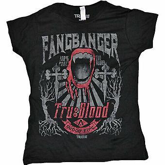 True Blood Fangbanger Vrouwelijk T-shirt