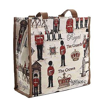 Royal guard reusable shopper bag by signare tapestry / shop-rgd