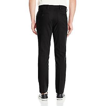 Dockers Men's Slim Tapered Easy Khaki Pants, black (Stretch), 38W x 30L