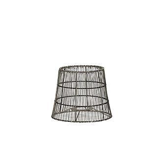Lumière et Vie Autour De l'ombre 17x13x14cm Manusa Wire Nickel