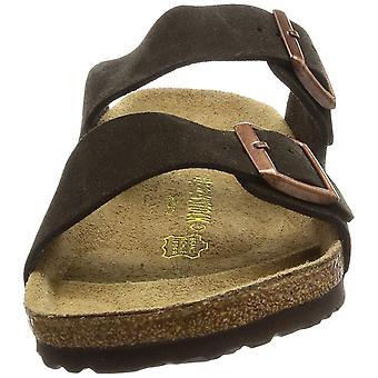 Birkenstock damskie ARIZONA skórzane Open Toe slajdów Casual sandały