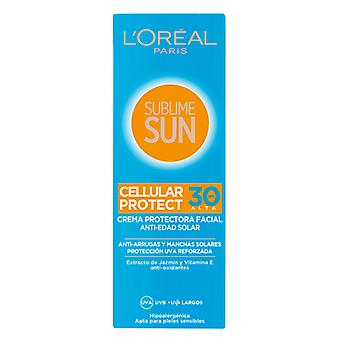 Sun Cream Sublime Sun L'Oreal Make Up Spf 30 (75 ml)