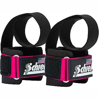 Schiek Sports Model 1000-PLS Deluxe Power Lifting Straps - Pink