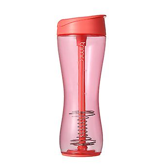 TRIMR Ergonomic Shaker Water Bottle 700ml in Red
